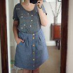 Kelly chambray skirt