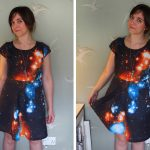 Space dress: Simplicity 1651