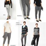 Papercut pleated pants
