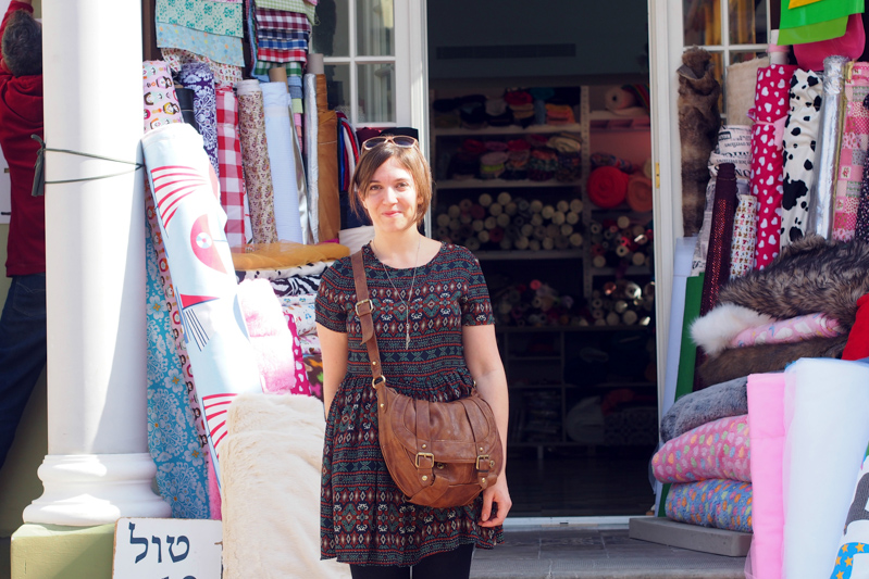 Tel Aviv fabric shopping