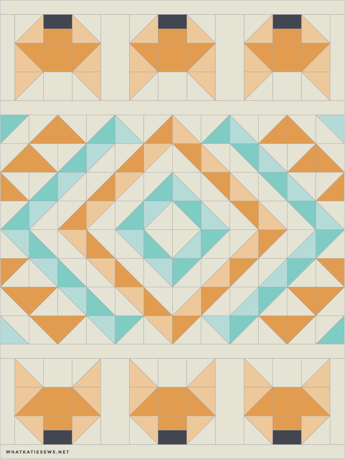Foxes Quilt What Katie Sews