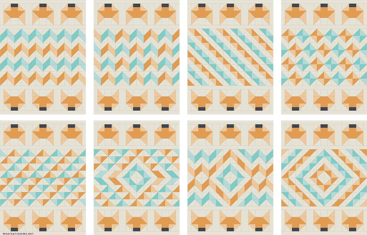 fox quilt patterns