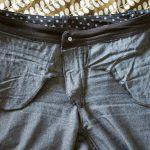 MMM basics: polka dot skinny jeans