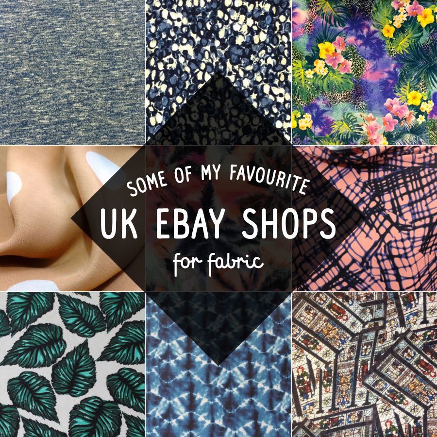 Fabric shopping on eBay UK