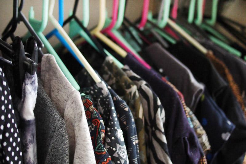Konmari wardrobe