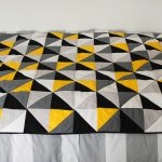 A grellow living room quilt