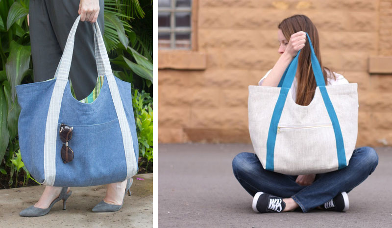 1d914bd9ad6e Indiesew  Noodlehead Poolside tote