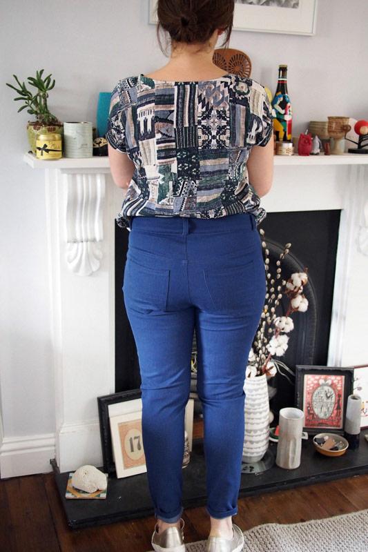 Ginger jeans