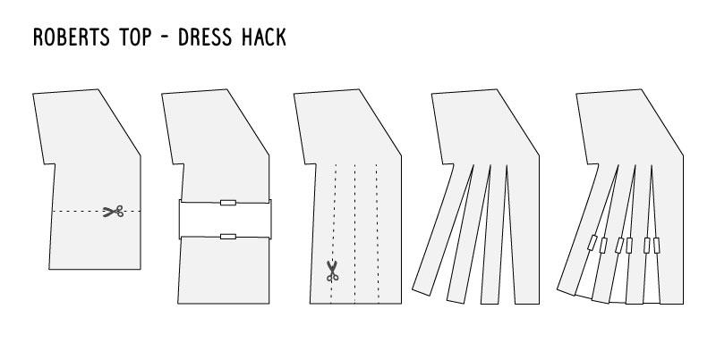 roberts dress hack
