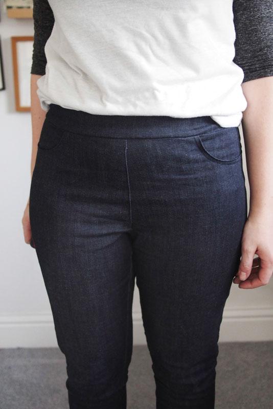 Pull-on Ginger jeans