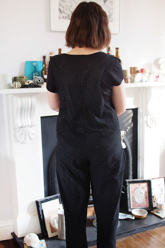 Cord jumpsuit