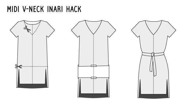 Inari dress hack