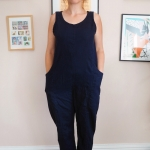 DIYing the Elizabeth Suzann Clyde pants and jumpsuit
