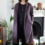 A Coat in Hainsworth wool & Liberty twill