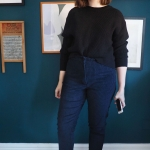 Philippa pants: fitting and adding a 'tummy stay'