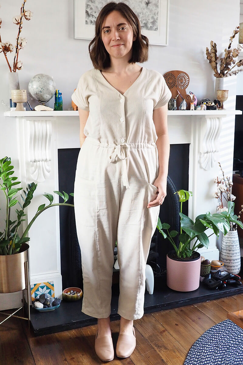 221f3c08f48 I toiled the True Bias Yari Jumpsuit last year sometime and for whatever  reason (…winter